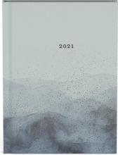 , Agenda 2021 10x15 grijs bergen