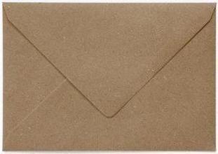 , Envelop Papicolor EA5 156x220mm recycled kraft bruin