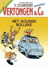Hec  Leemans FC De Kampioenen Vertongen & C0 het gouden bolleke