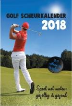 Golf Scheurkalender 2018