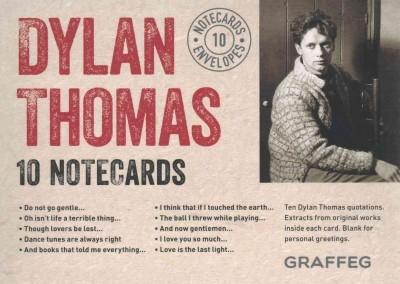 Thomas, Dylan,Dylan Thomas Notecard Collection