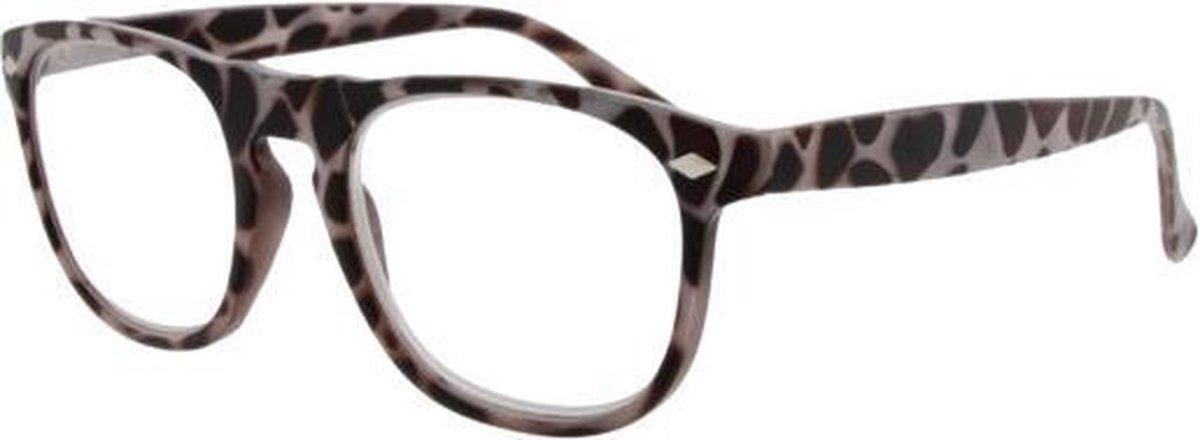 Rcw002,Leesbril icon rcw002 off white milky tortoise 3.00