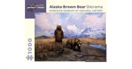 , Alaska Brown Bear Diorama  1000-Piece Jigsaw Puzzle Aa940