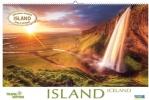 Island 2021, Großer Foto-Wandkalender mit Bildern von der Insel der vielen Vulkane. Travel Edition mit Jahres-Wandplaner. PhotoArt Panorama Querformat: 58x39 cm.
