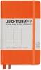 <b>Lt342933</b>,Leuchtturm notitieboek pocket 90x150 dots  / bullets oranje