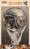 <b>Puz-818</b>,Puzzel - m. c. escher - hand met spiegelende bol - 1000