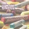 , Talens rembrandt soft pastel marsviolet 10