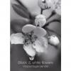 ,<b>Black & white florals verjaardagskalender</b>