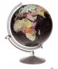 <b>Scanglobe 85072</b>,Globe Midnight Black Ocean (engelstalig) 30 Cm