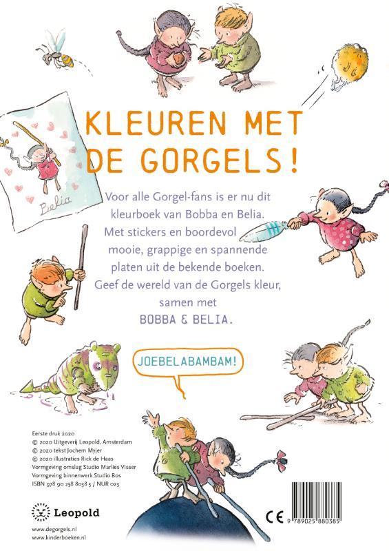Jochem Myjer,De Gorgels Kleurboek van Bobba & Belia