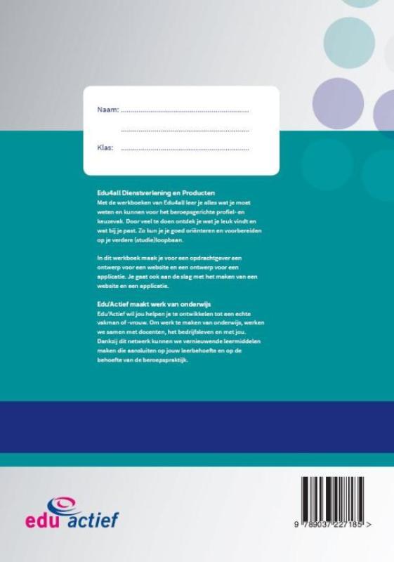 Tessel Mulder,Een website en applicatie ontwerpen en maken