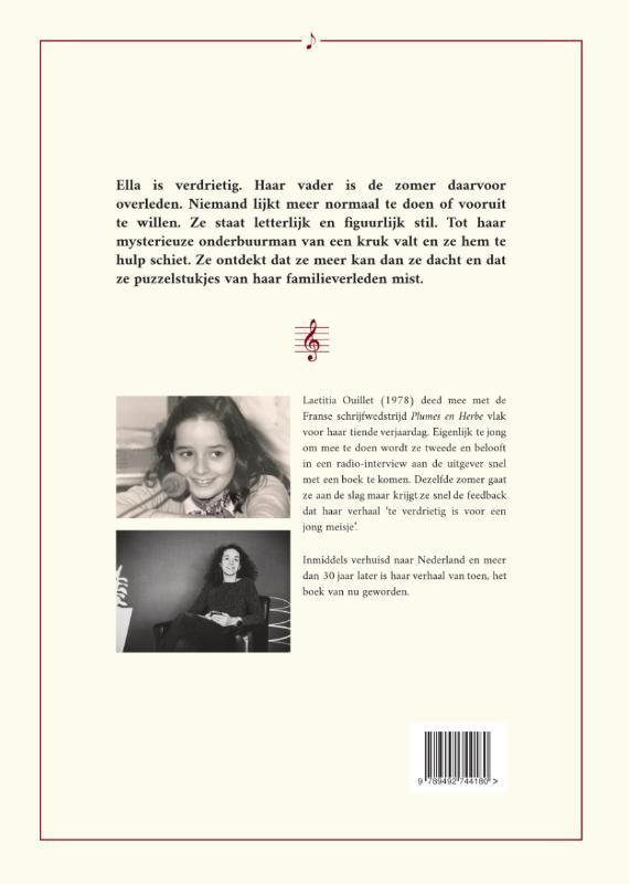 Laetitia Ouillet,Het boek van toen