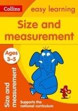 Collins Easy Learning Size and Measurement Ages 3-5: New Edition