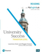 Zwier, Lawrence,   Vosters, Maggie University Success Reading, Transition Level, with MyEnglishLab