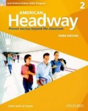 Soars, John,   Soars, Liz American Headway 2. Students Book + Oxford Online Skills Program Pack