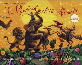 Prelutsky, Jack The Carnival of the Animals [With CD (Audio)]
