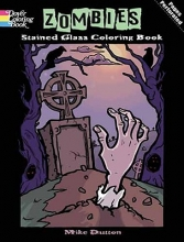 Michael Dutton Zombies Stained Glass Coloring Book