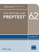 Law School Admission Council The Official LSAT Preptest 62