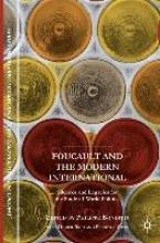 Philippe Bonditti,   Didier Bigo,   Frederic Gros,Foucault and the Modern International