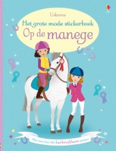 GROTE MODE STICKERBOEK - OP DE MANEGE