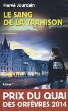 Jourdain, Herve Le Sang De Trahison / deel PQO - Prix du Quai des Orfèvres 2014