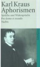 Kraus, Karl Aphorismen