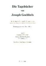 Goebbels, Joseph Goebbels, J: Tagebücher  Teil III Gegr.Reg.
