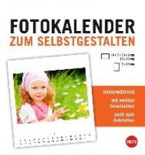 Fotokalender klein weiß immerwährend