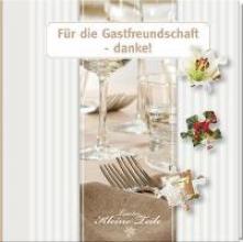 Geschenkbuch - Für die Gastfreundschaft - danke!