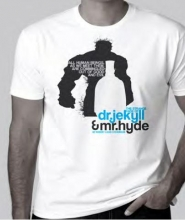 Dr. Jekyll & Mr. Hyde T-shirt, Large