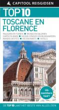 Capitool Capitool Top 10 Toscane & Florence + uitneembare kaart