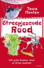 Tosca  Menten Streepjescode Rood