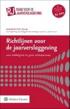 , Richtlijnen voor de jaarverslaggeving, middelgrote en grote rechtspersonen 2019