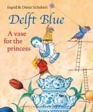 Ingrid  Schubert Delft Blue. A vase for the princess