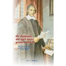 C.J. Meeuse , De dominee die niet meer preken mocht