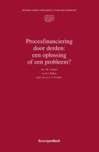 J.H.  Lemstra, R.J.  Philips, L.T.  Visscher Procesfinanciering door derden: een oplossing of een probleem?