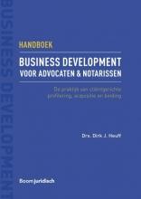 Dirk  Heuff Handboek business development voor advocaten & notarissen
