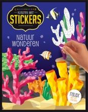 , Kleuren met stickers - Natuurwonderen