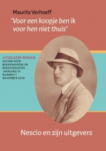 Maurits Verhoeff , Nescio en zijn uitgevers