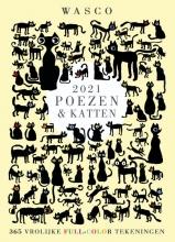 Wasco , Katten Scheurkalender 2021