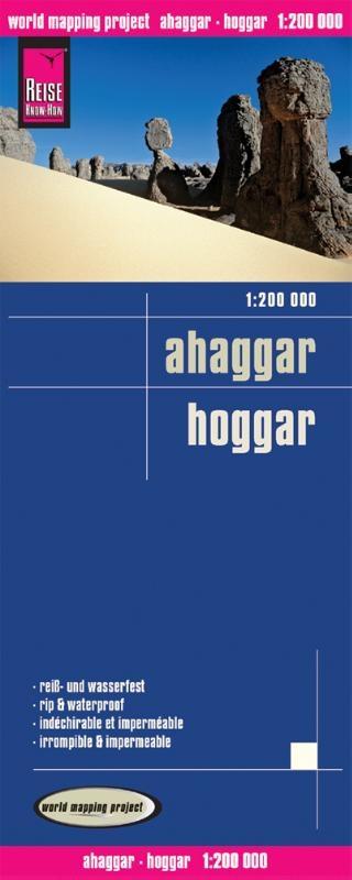 ,Reise Know-How Landkarte Ahaggar Hoggar (1:200.000)