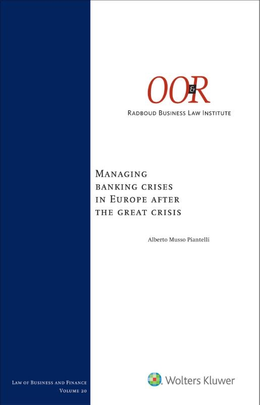 ,Managing banking crises in Europe after the great crisis