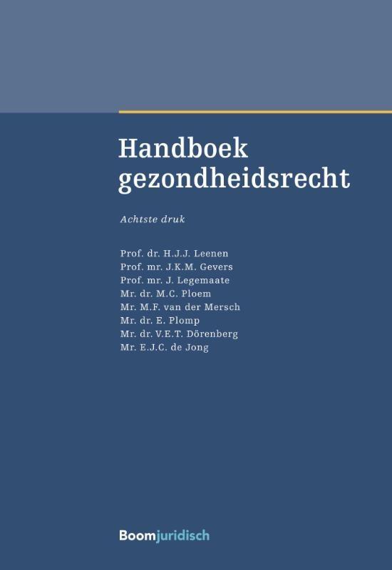 ,Handboek gezondheidsrecht
