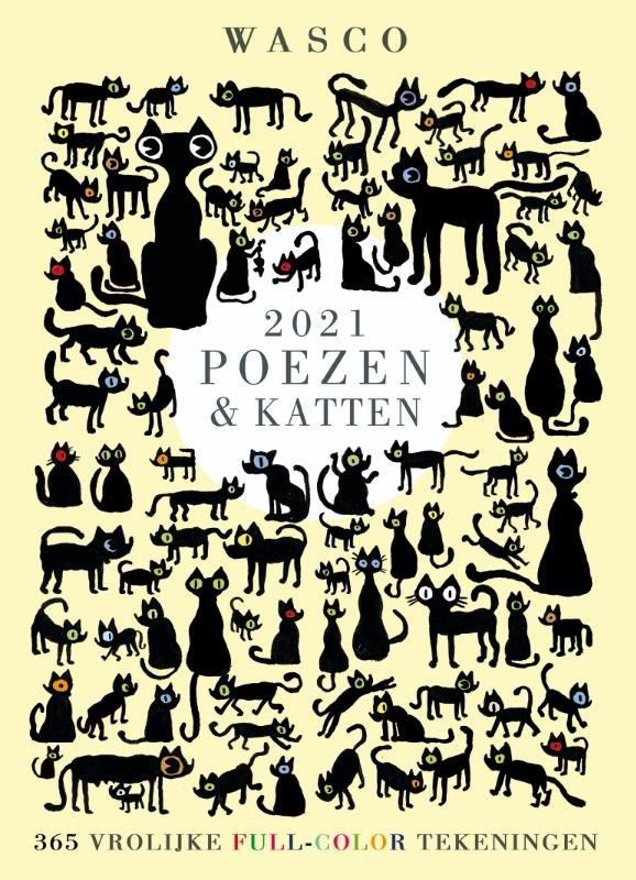 Wasco,Katten Scheurkalender 2021