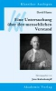 Kulenkampff, Jens,David Hume: Eine Untersuchung über den menschlichen Verstand