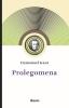 <b>Immanuel  Kant</b>,Prolegomena