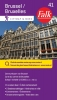 Falkplan BV ,Falk city map & more 41 Brussel Bruxelles 1e druk recente uitgave