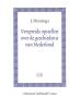 <b>J. Huizinga</b>,Verspreide opstellen over de geschiedenis van Nederland