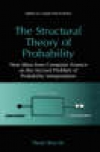 Paolo Rocchi The Structural Theory of Probability