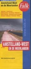 Falk stadsplattegrond Amstelland-West en de Meerlanden (Aalsmeer, Amstelveen, Badhoevedorp, Hoofddorp, Mijdrecht, Nieuw-Vennep, Ouderkerk, Schiphol, Uithoorn, Vinkeveen, Wilnis) 7e druk recente uitgave